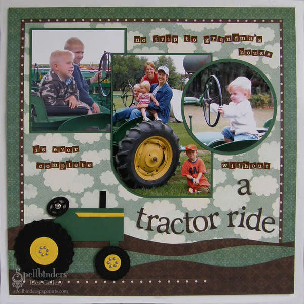 """Tractor Ride"" by Judy Hayes"