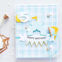 5th Birthday Card Video Tutorial With Tips On Die Cuts