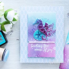 Oceans of Joy by Yana Smakula for Spellbinders