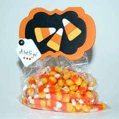 Candy Corn Bag by AJ Otto