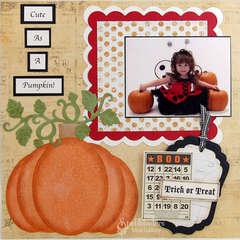 Cute as a Pumpkin by Mona Pendleton
