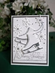 Get Your Skates On by Christina Griffiths for Spellbinders