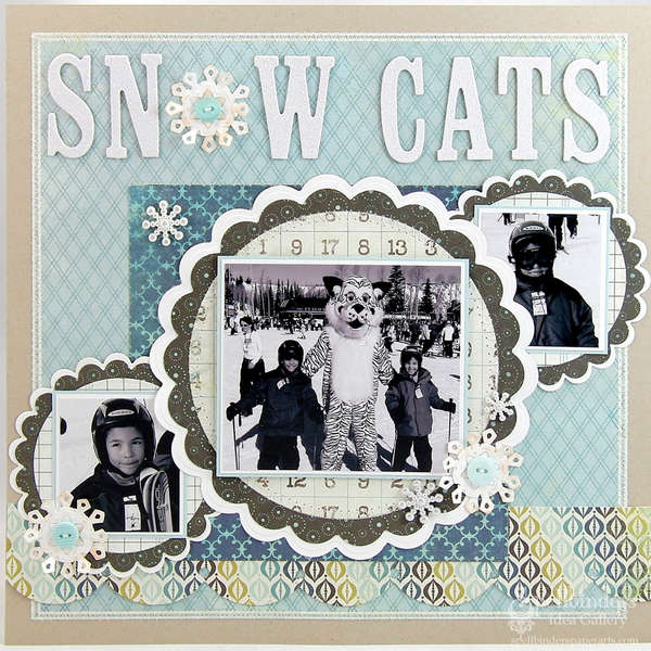 Snow Cats by Mona Pendleton