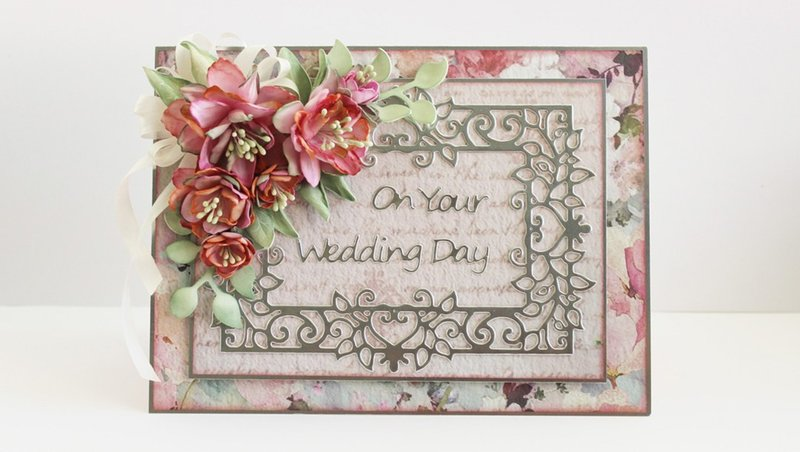On Your Wedding Day Card: Timeless Heart Collection by Marisa Job