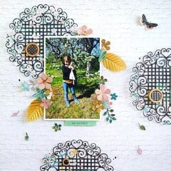 Blooming Garden Inspiration | Feminine Layout with Elodie