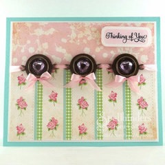 Thinking of You Card by Darsie Bruno