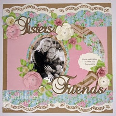Sisters Friends Layout