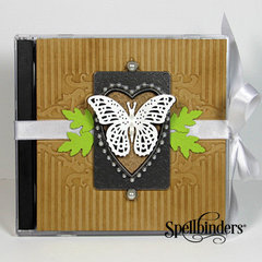 Butterfly CD Case by Yvonne van de Grijp