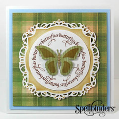 Butterfly Card by Yvonne van de Grijp