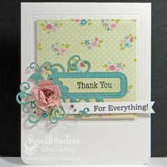 Thank You for Everything Card by Michelle Woerner