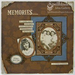 Memories Scrapbook Page by Judy Hayes