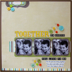 Together Layout by Tina McDonald