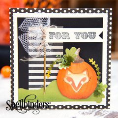 For You Pumpkin Card