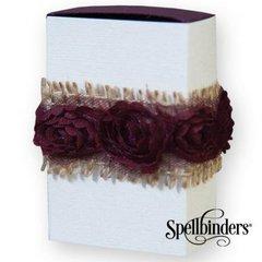 Spellbinders Rose Trim Gift Match Box