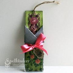Shabby Bookmark by Windy Robinson