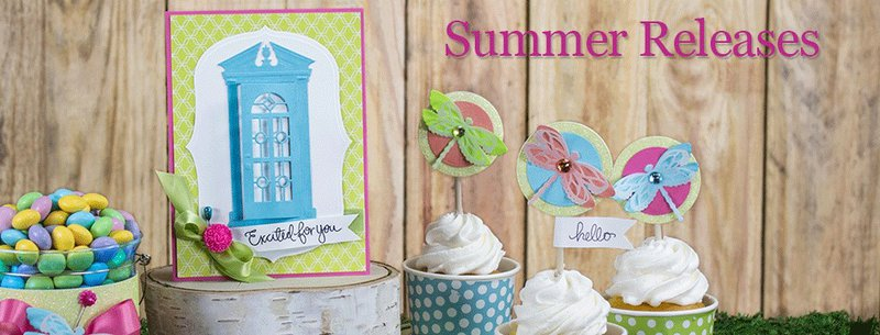 Have you seen the New Summer Collection from Spellbinders?