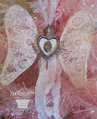 A Blessed Christmas Ornament by Lynn Stevens