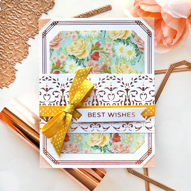 Best Wishes Card by Brenda Noelke