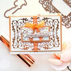 Congratulations Card by Brenda Noelke