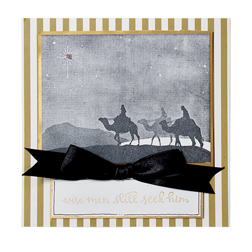3 Kings 3D Shading Cling Stamp from Spellbinderr