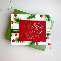 Holiday Cheer Card by Laurie Willison
