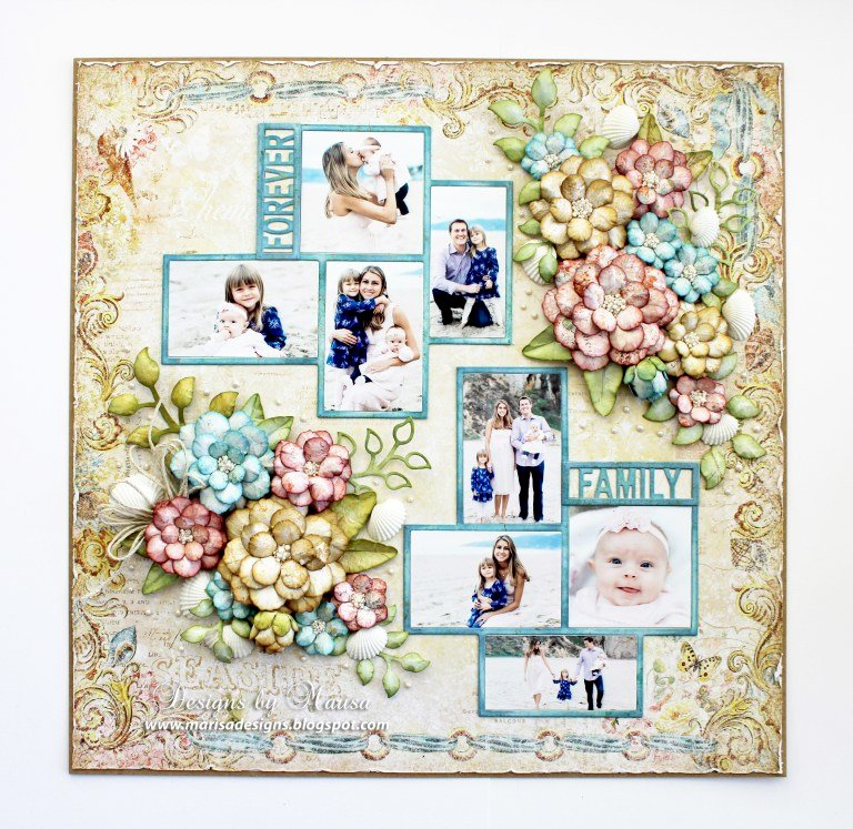 Forever Family Layout by Marisa Job