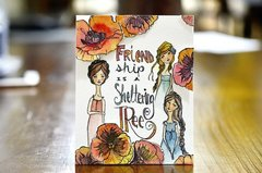 Jane Davenport Artomology | Mixed Media Friendship Cards with Mayline