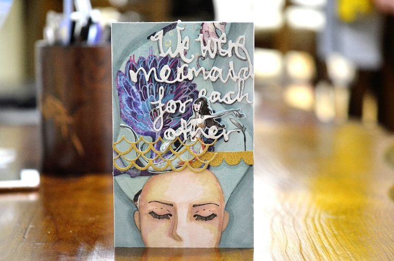 Jane Davenport Artomology | Mixed Media Friendship Cards with Mayline