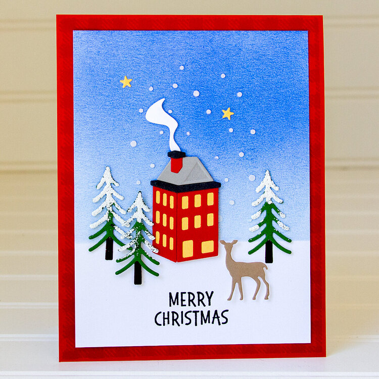Merry Christmas Card by Jean