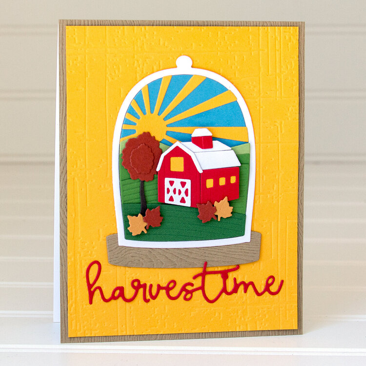 Harvest Card by Jean