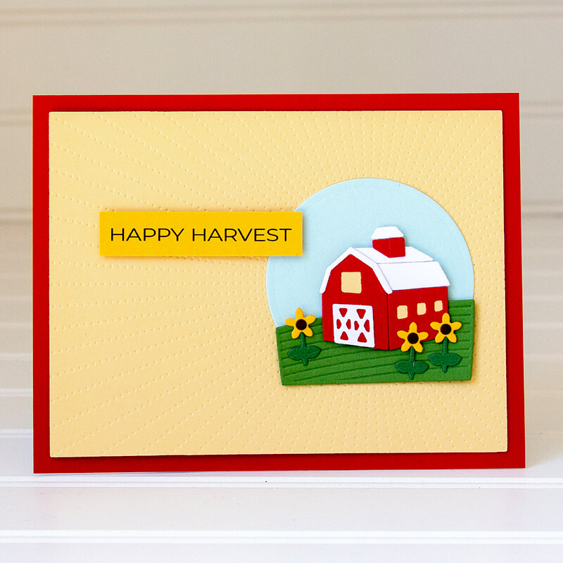 Happy Harvest Card by Jean