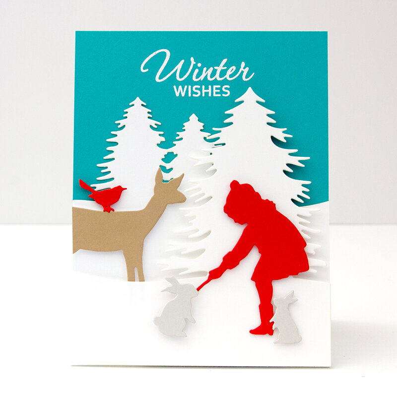 Winter Wishes Card by Jean