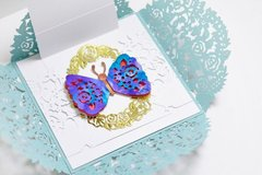 Butterfly Gardens Card with Mayline
