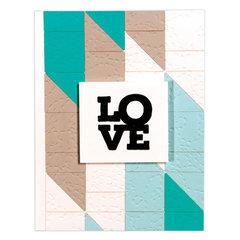 Half-Square Quilt-It Card