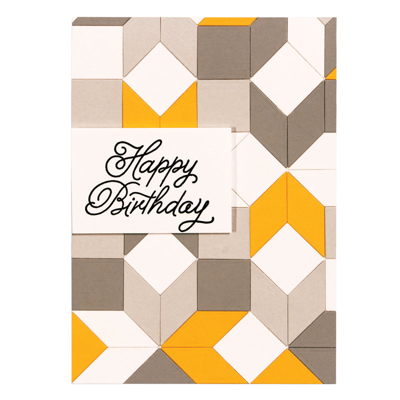 Happy Birthday Quilt-It Card