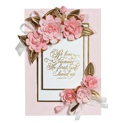 Cinch and Go Flowers Card