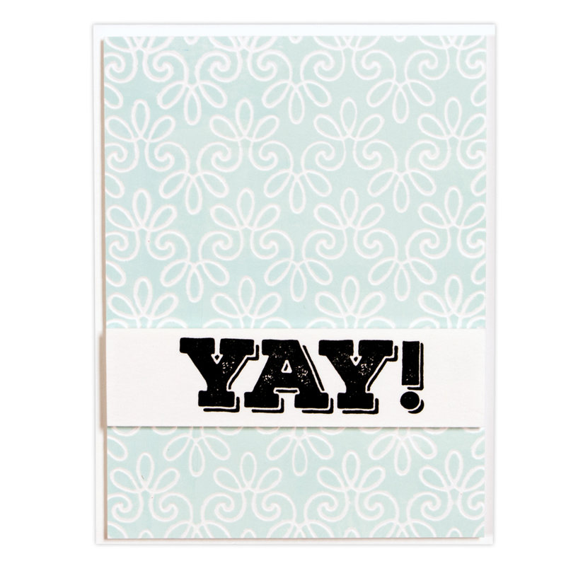 Flourish Stitch Card