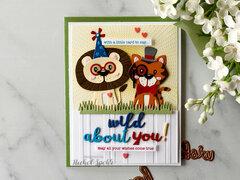 Die D-Lites Animal Scene Card