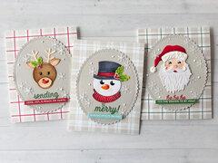 Holiday Die D-Lites Cards by Nichol Spohr