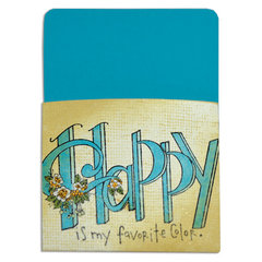 Happy Is My Favorite Color Library Pocket