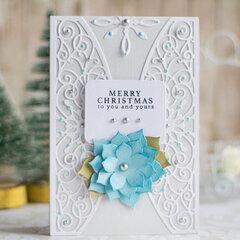Merry Christmas Card by Elena Salo