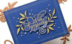 Glorious Glimmer Inspiration | Clean & Simple Cards with Brenda Feeken