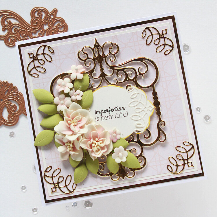 Imperfection is Beautiful Card by Hussena