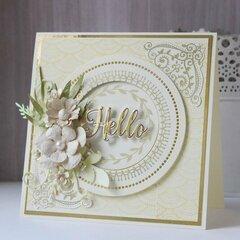 Foiled Card by Hussena Calcuttawala