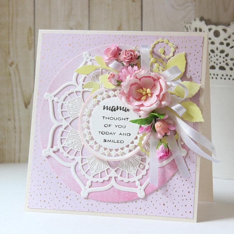 Layered Card by Hussena Calcuttawala