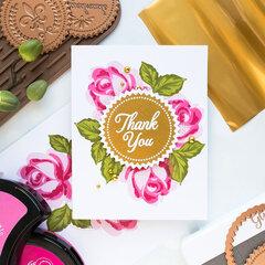 Thank you card by Yana Smakula