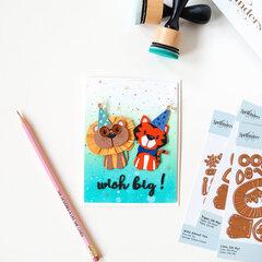 Wish Big Card by Jung AhSang