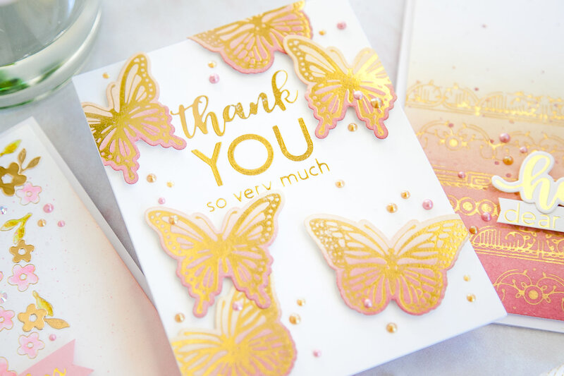 Thank You So Very Much Card by Keeway Tsao