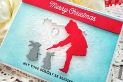 Merry Christmas Card by Kelly Lunceford