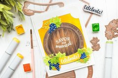 Savor the Moment Card with Mona Toth
